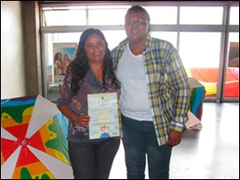 Cátia Cilene dos Santos e Ana Cristina Soares dos Santos