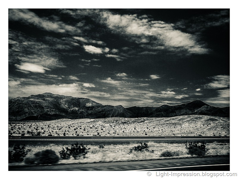 Light Impressions-Through The Desert To Las Vegas