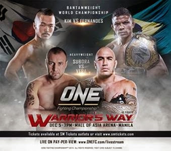 ONE FC: Warrior's Way