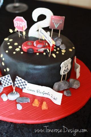 cars cake_cars_bursdag_barnebursdag_kake