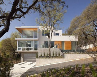 casa moderna externa