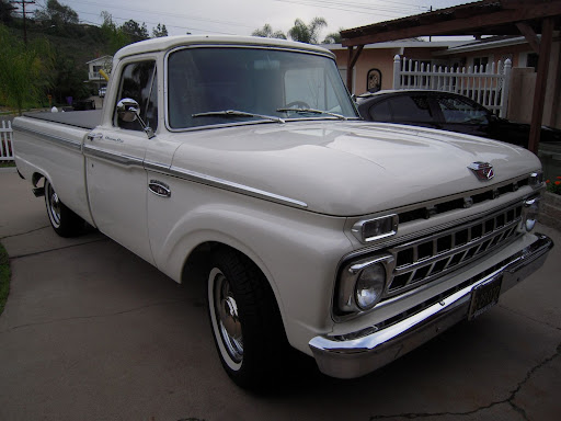 1965 Ford long bed pickup,