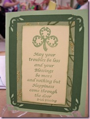 Jeannie's Irish prayer