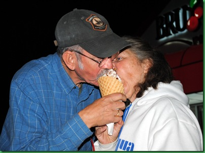 26 - Sherry and David Sharing Ice Cream
