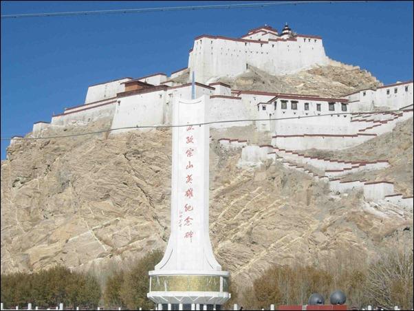 Gyantse_Fortress