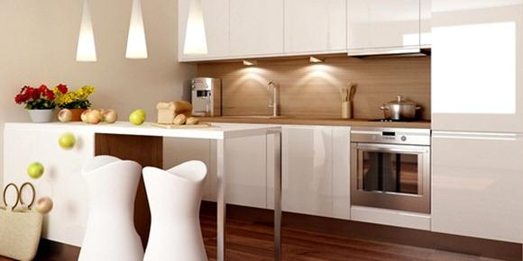 Diseño de cocinas pequeñas ideales para apartamentos - iDecorar