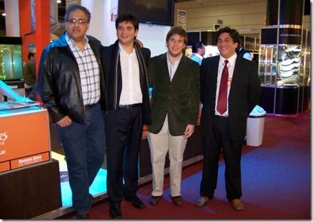 La Costa promocionó sus excursiones de pesca deportiva en la 20° Feria Internacional Expoarmas 2011
