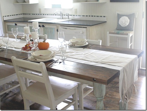 Home is what you make it the shabby creek cottage for Farmhouse style mobile home