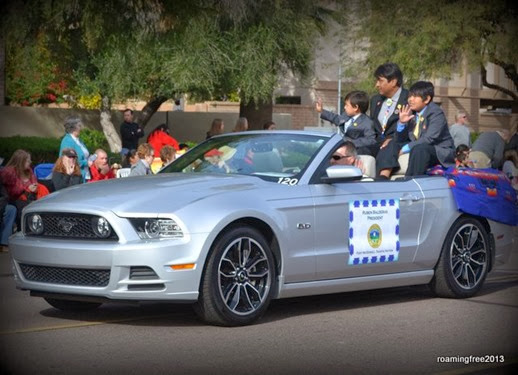 Mustangs to carry the parade VIPs