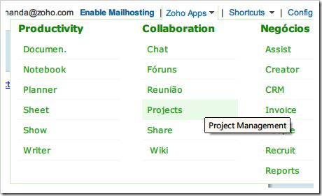 Zoho Apps