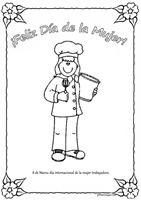 mujer trabajadora cocinera pintaryjugar 312 1 1 1 1 1