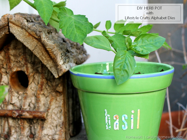 Lifestyle Crafts Herb Pot via homework - carolynshomework (11)