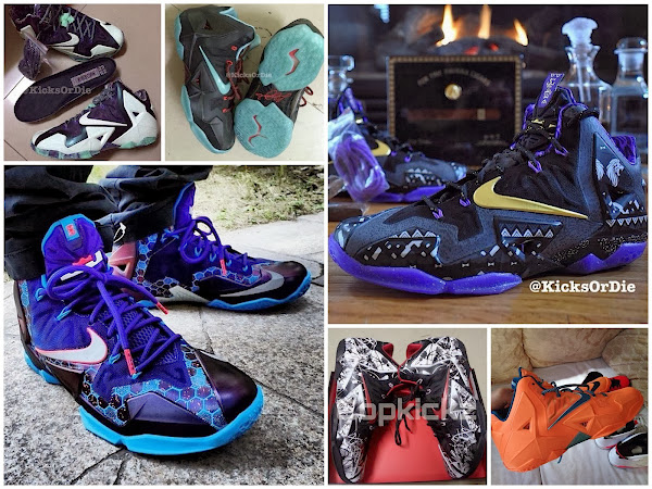 A Round up of 2014 Colorways of the Nike LeBron 11