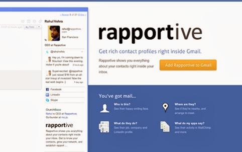 Rapportive para Chrome