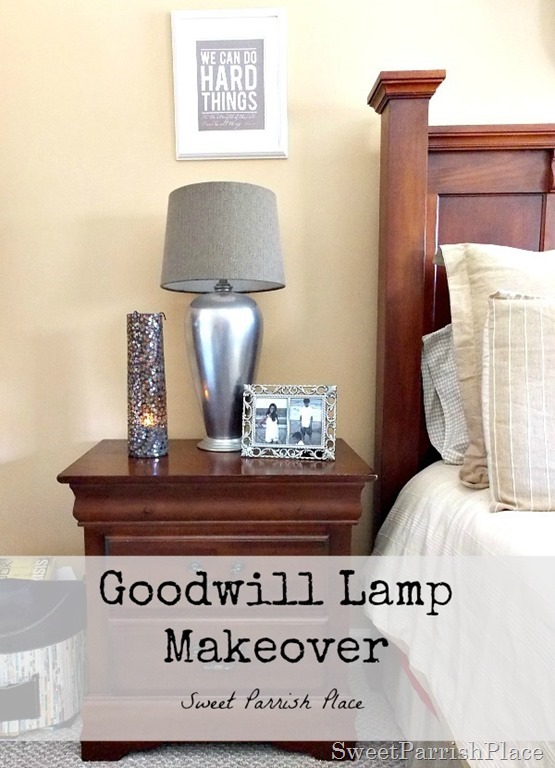 Goodwill Lamp Makeover9