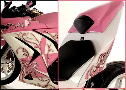 Kawasaki Ninja 250R Modif Pink