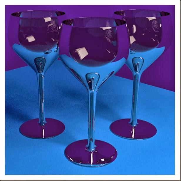 wine emptyblue