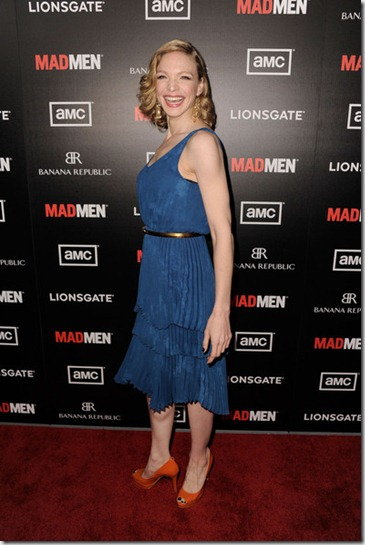 Premiere AMC Mad Men Season 5 Arrivals QKYkLmHGoLIl