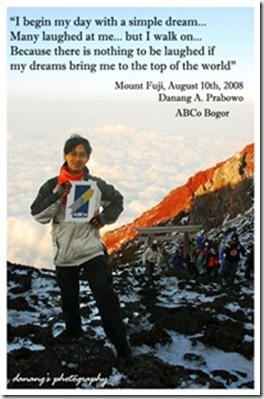 ABCO di Gunung Fuji-Danang