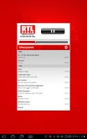 Screenshot of RTL RADIO 93,3 und  97,0
