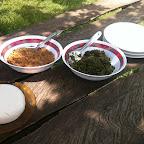 Mittagessen bei Rosi © Foto: Doreen Schütze | Outback Africa Erlebnisreisen