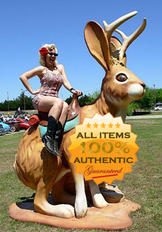 Authentic jackalope