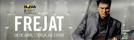 Nova Brasil FM apresenta Frejat, dia 08, terça, no Teatro Bradesco