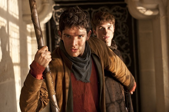 Colin Morgan is Merlin and Daegal Alfie Stewart