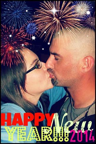 New Years Kiss 2014
