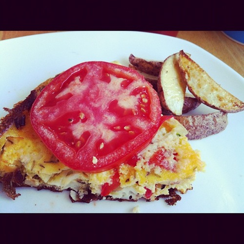 Tomato and Herb Frittata Life the Epic Journey