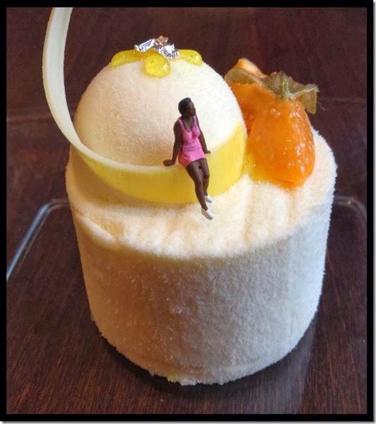 Ivoire 36% Passionsfrucht Passionsfruchtbiskuit Werkstatt der Süße