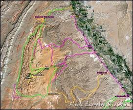 MAP-Logandale Trails - Detail