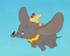 Jumbo or Dumbo - the flying elephant created by Disney Studios