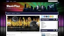 Musicplus blogger template 225x128