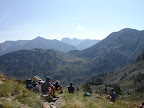 GR10 looking into the Merens valley