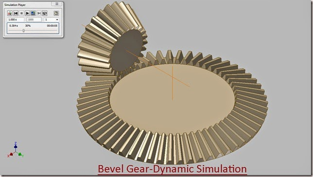3d solid modelling videos bevel gear dynamic simulation autodesk bevel gear dynamic simulation ccuart Image collections