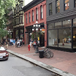 Gastown Vancouver in Vancouver, British Columbia, Canada