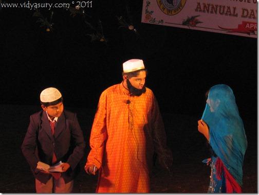 Vidur Sury on stage