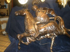 Finesse Originals knight on horseback