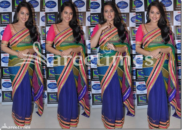 Sonakshi_Sinha_Half_and_Half_Saree