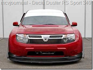 Dacia Duster RS Sport
