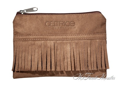 Suede Beauty Bag