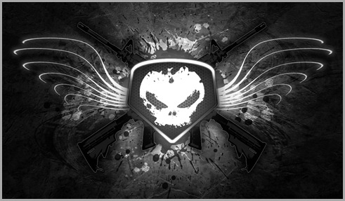 Skull emblem M4 Assault Rifle