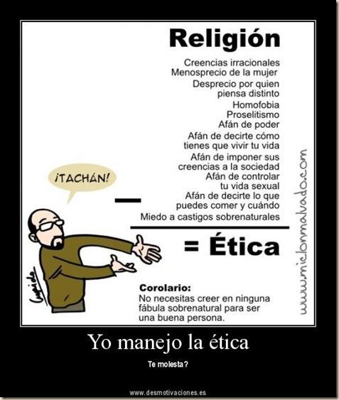 desmotivacion atea etica