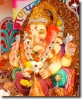 Worshiping Lord Ganesha