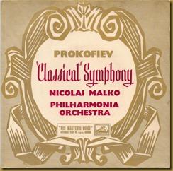 Prokofiev Sinfonía Clásica Malko