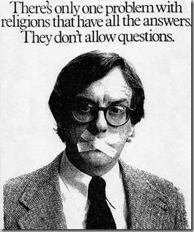 Religions no questions