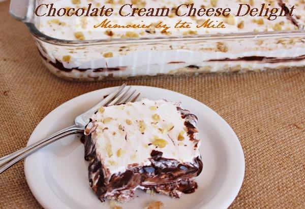 Chocolate Cream Cheese Delight