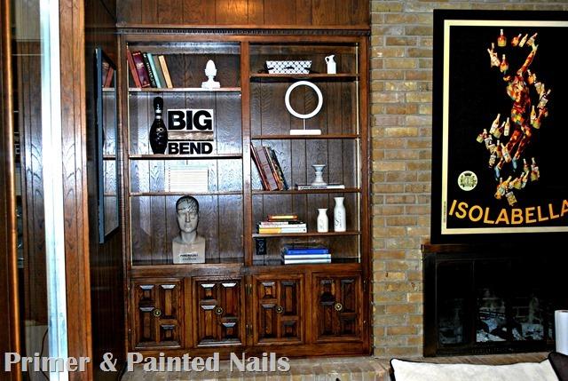Ida's Shelves After  Left Side 2 - Primer&Painted Nails