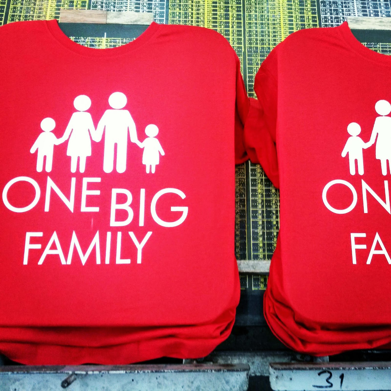 Contoh Design Tshirt Family Day
